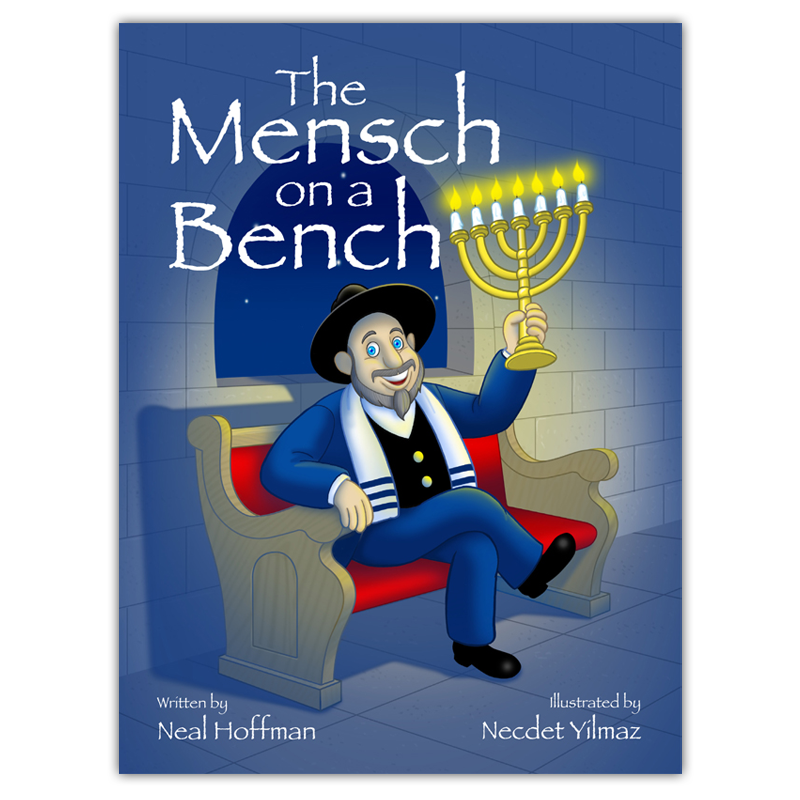 Signed Storybook Of Moshe The Mensch Mensch On A Bench